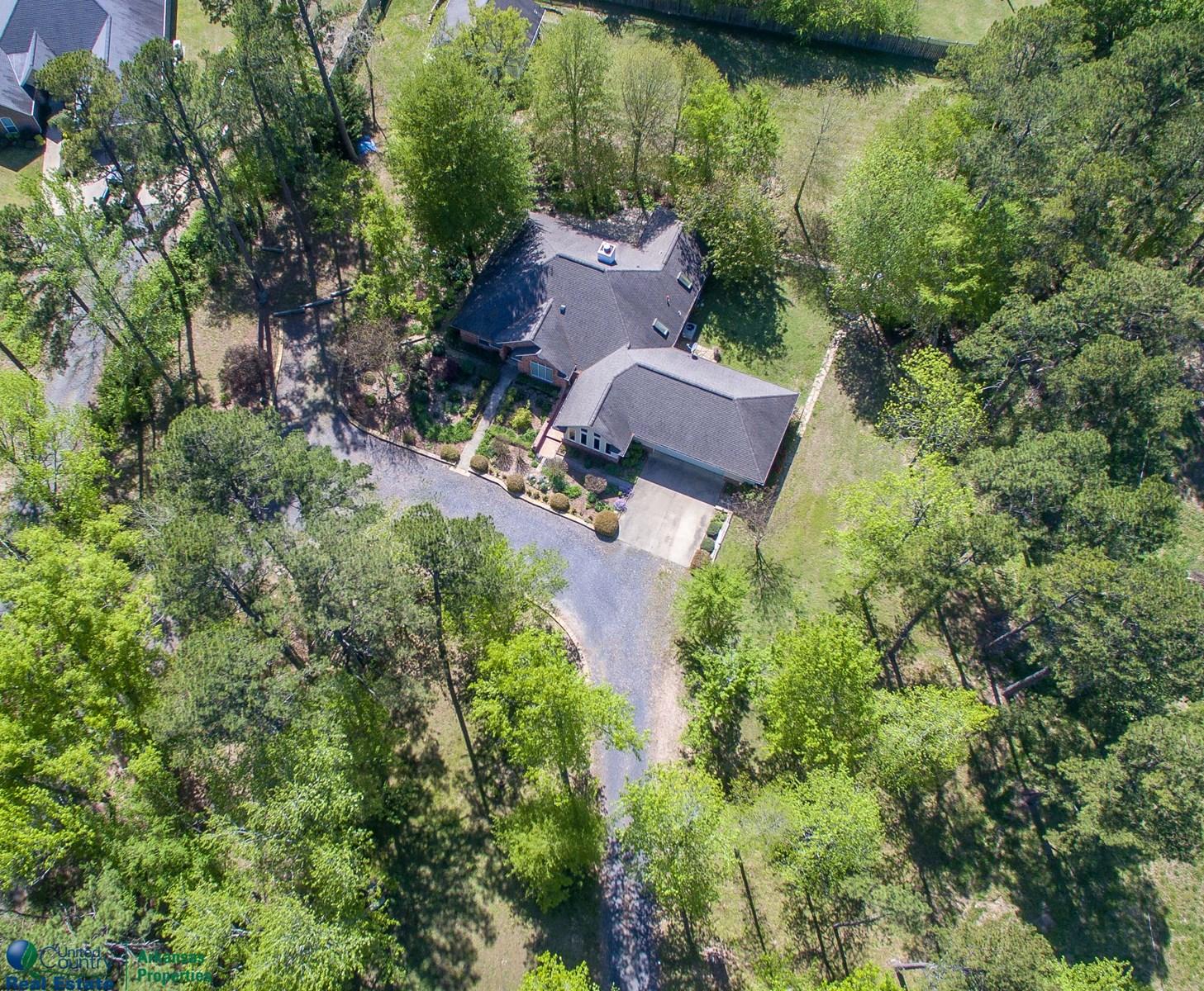 Custom Brick Home at Mena Lake