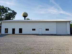 COMMERCIAL BUILDING, OBLONG, IL,  MOTIVATED SELLER!