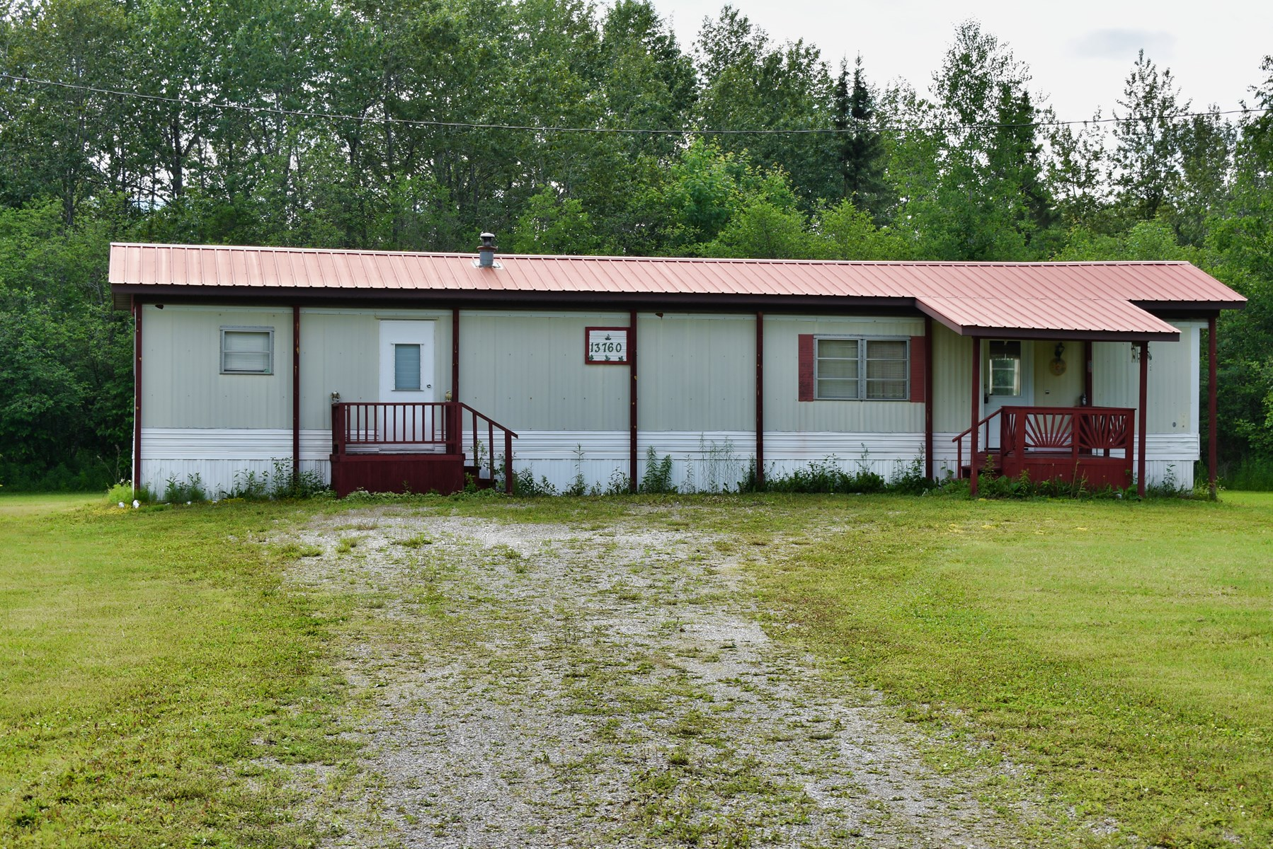 Posen, MI 40 acres Hunting Property w/ Mobile Home For Sale