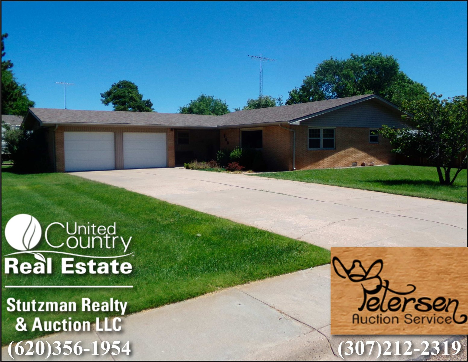 PUBLIC AUCTION - 902 N DURHAM ULYSSES, KS