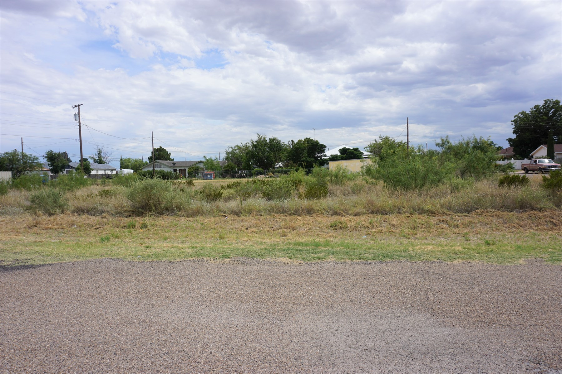 TWO LOTS ARE COMBINED IN ONE SALE IN FORT STOCKTON, TX