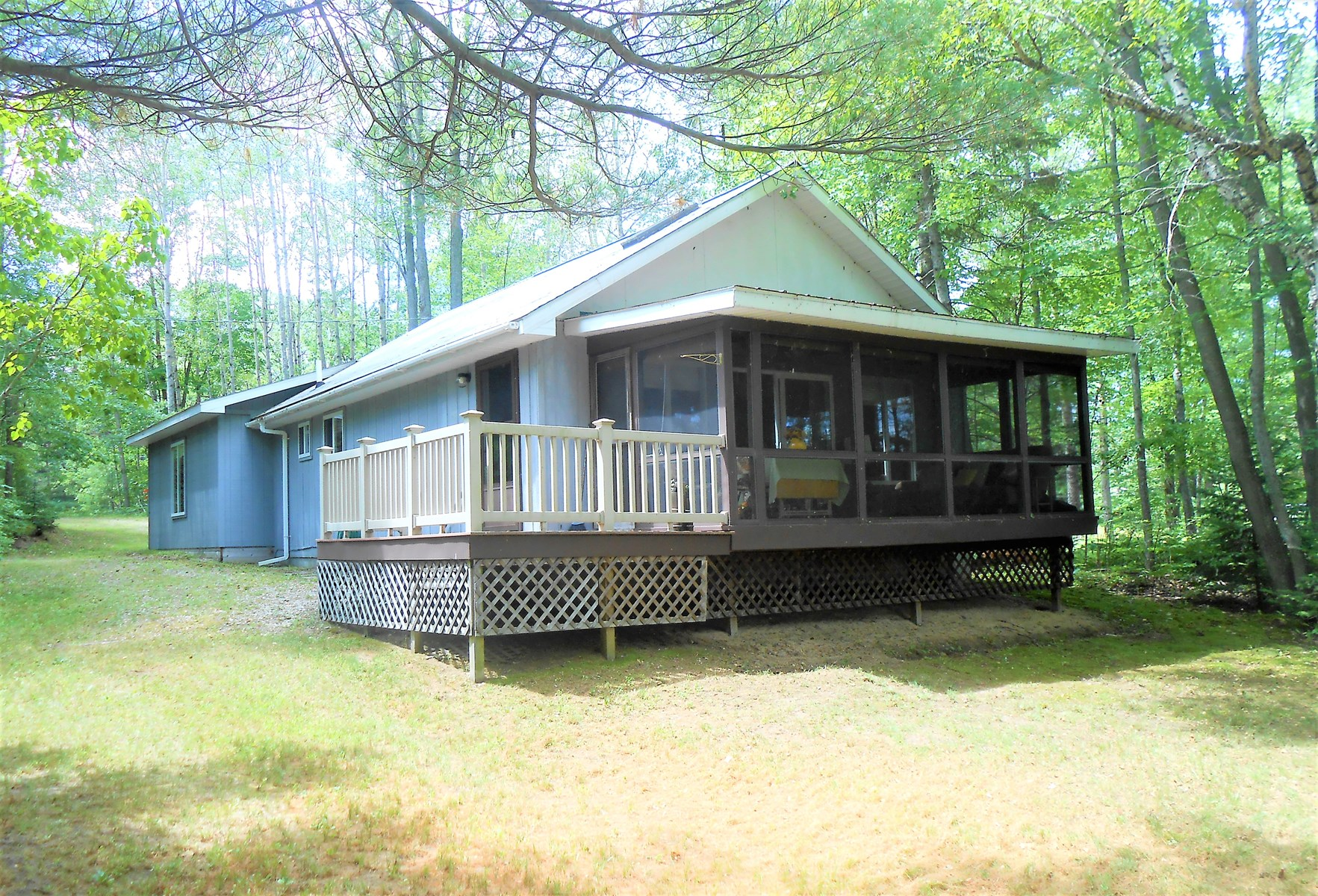 Thunder Bay Riverfront Chalet For Sale, Atlanta MI Fishing