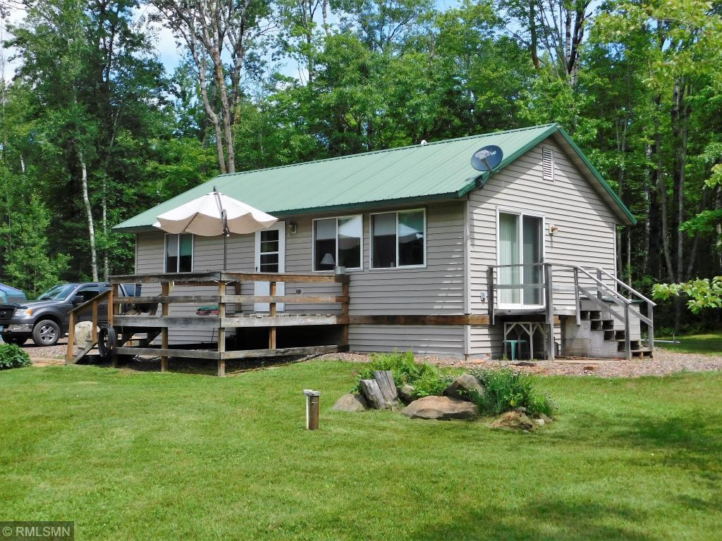 Year Round Cabin For Sale in Bruno, Wooded Acreage