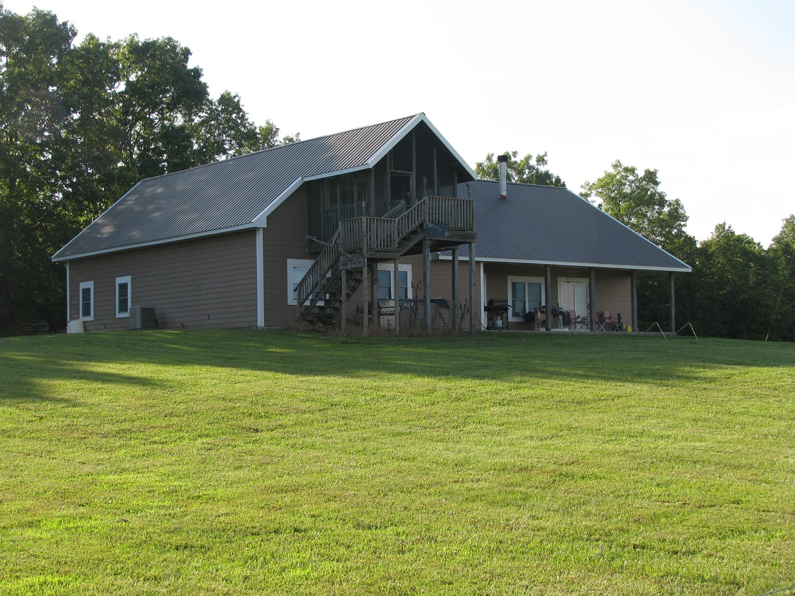 Ranch with Custom Home for Sale in Southern Missouri
