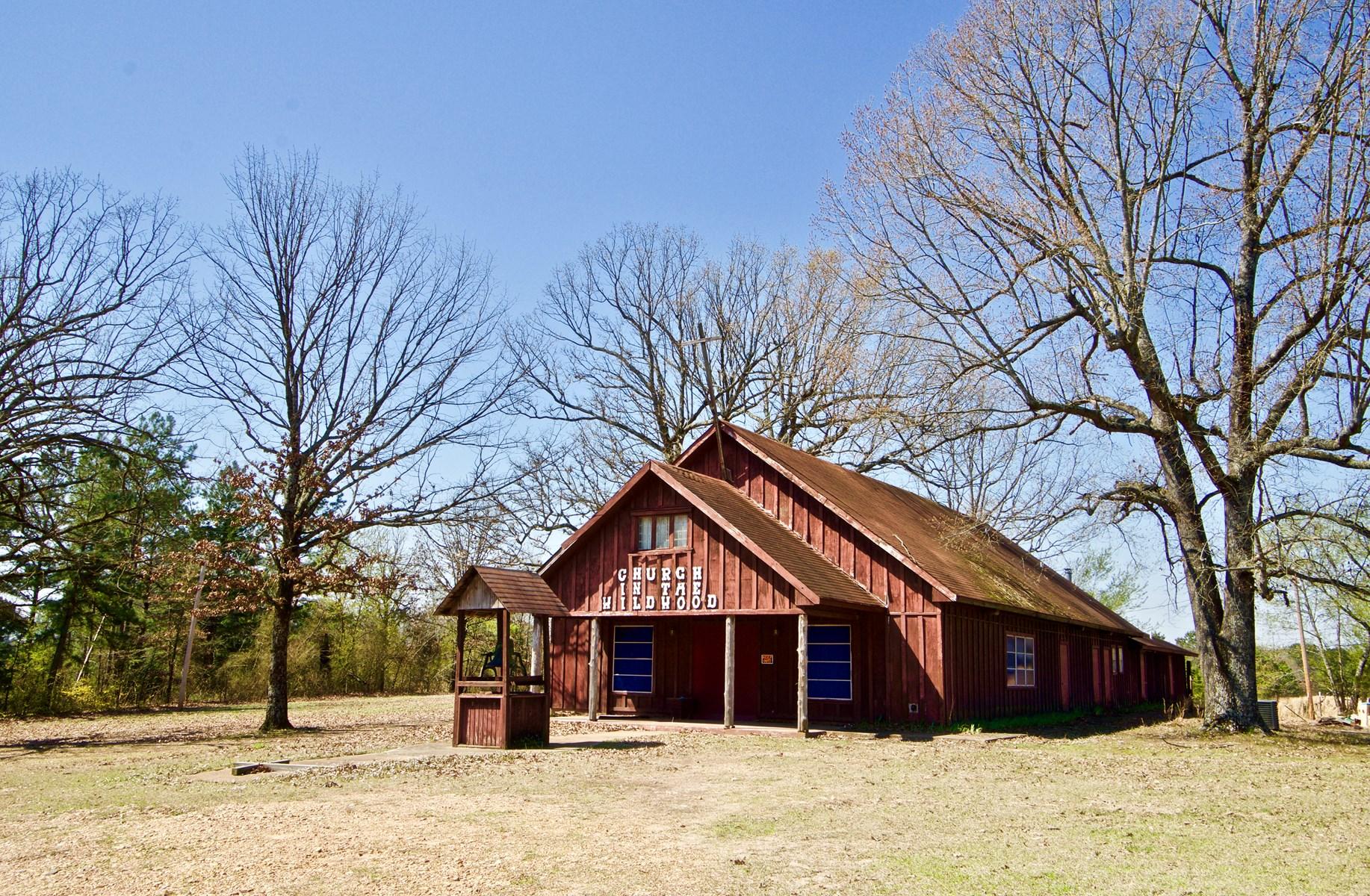WILDWOOD CHURCH & 5 ACRES, WINTHROP, AR