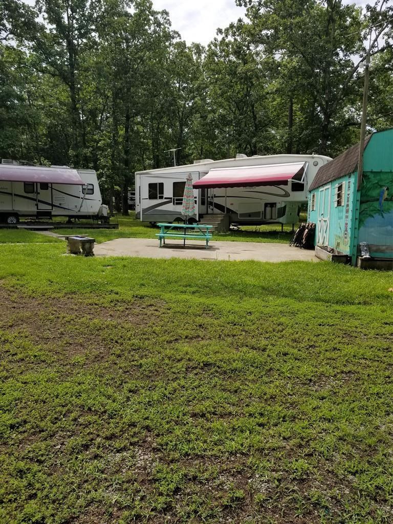 Camping Minutes From Buggs Island Lake, VA