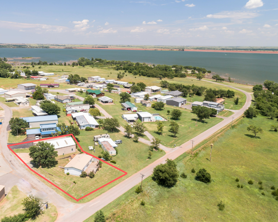 Lake View Property for Sale, Foss State Park, OK