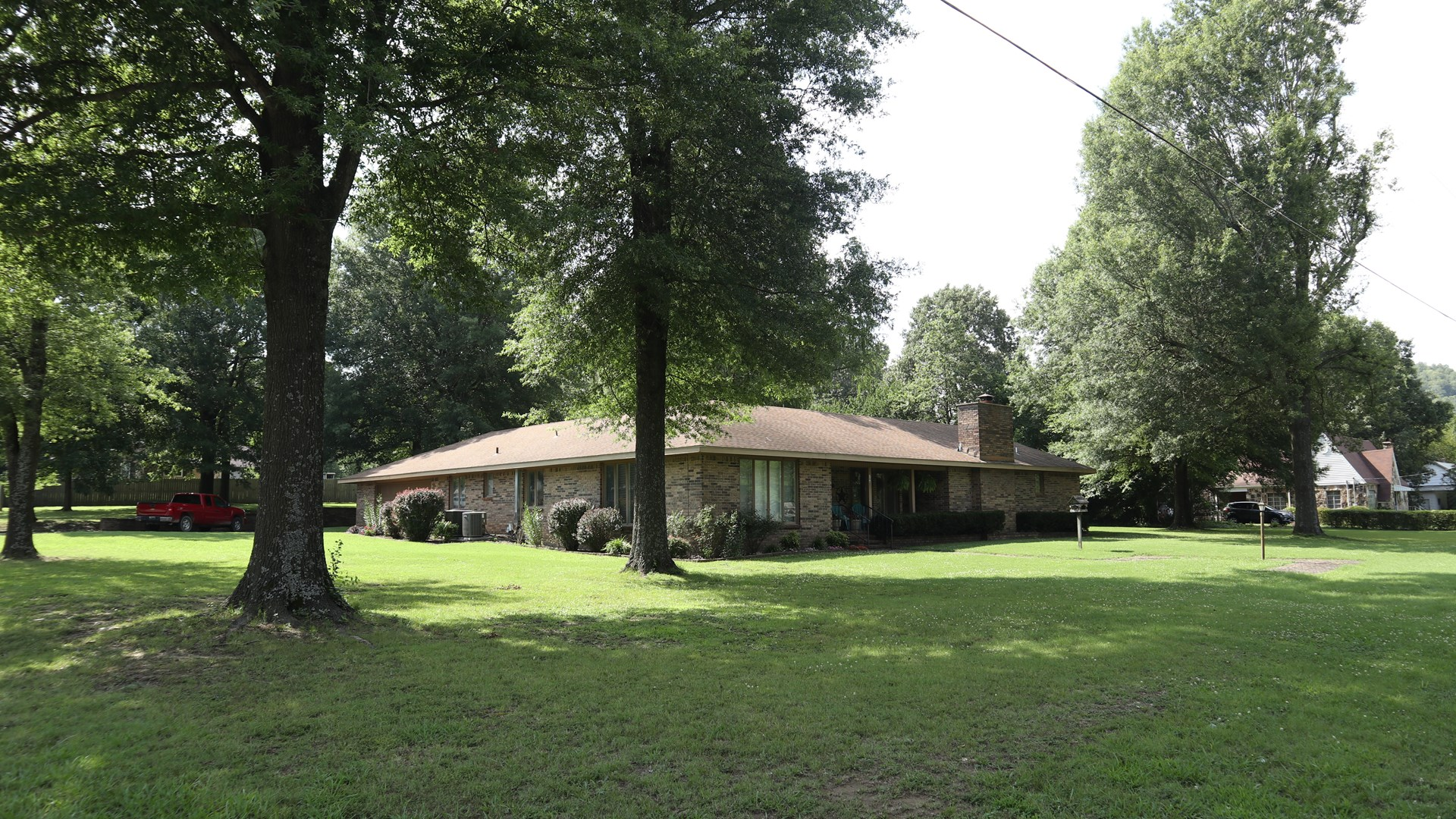 Ozarks In Town Brick Home for Sale in Salem Arkansas