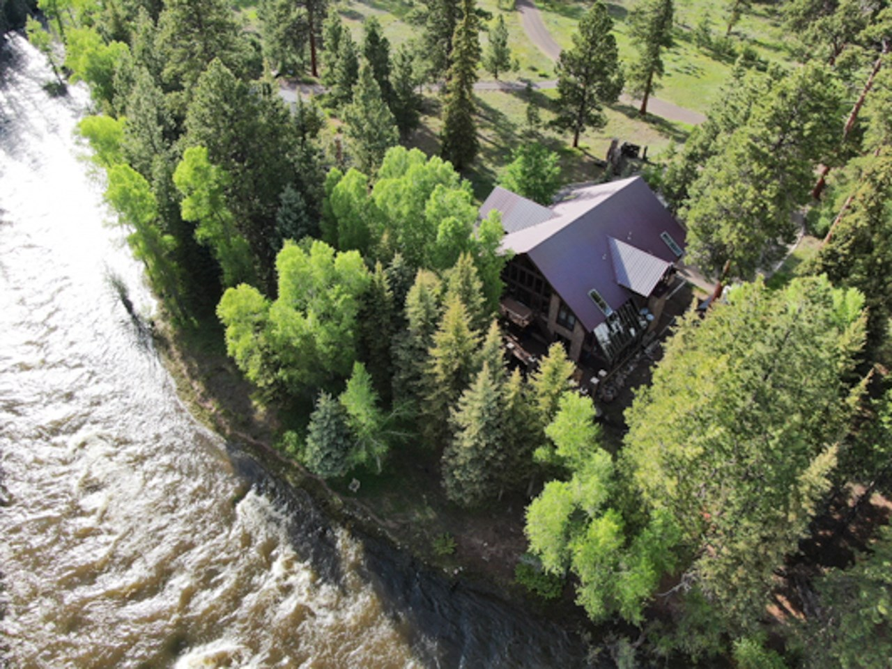 Colorado Riverfront Luxury Home, Fly Fishing, Gated Lodge