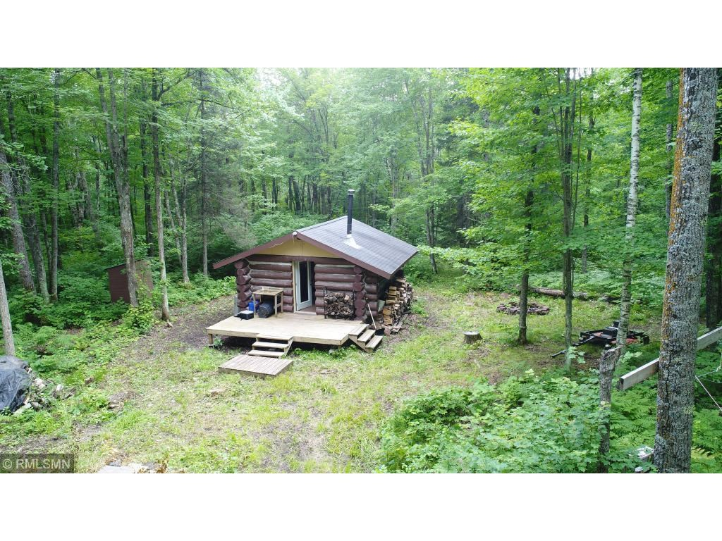 Log Cabin For Sale in the Woods, Barnum MN Acreage For Sale