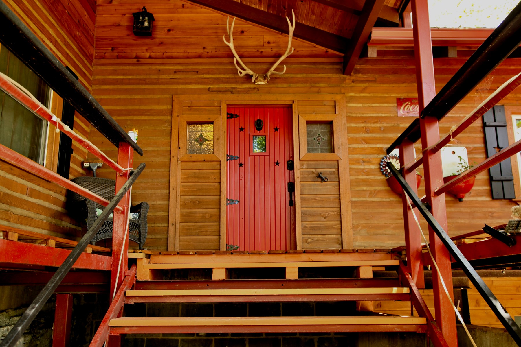 Log Cabin For Sale River Access Hunting Fishing NE Oklahoma