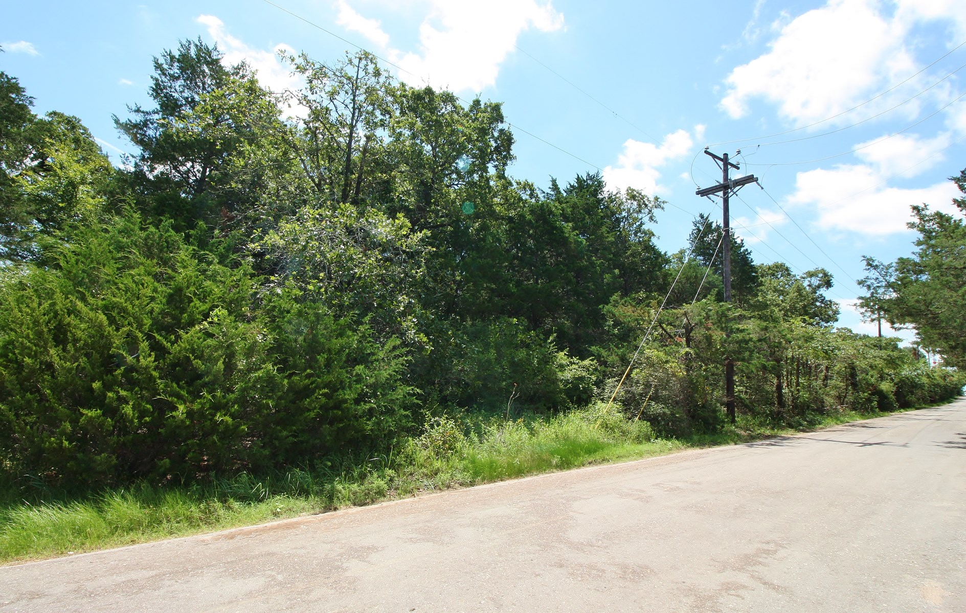 Wooded Unrestricted Acreage for Sale in Freestone County, TX