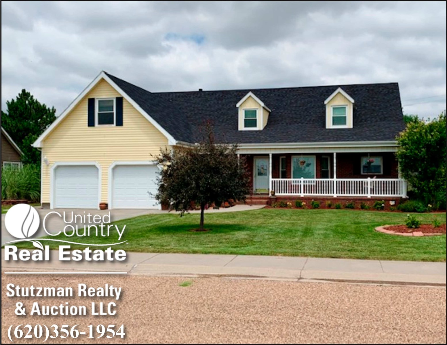 CAPE CODE STYLE HOME FOR SALE IN ULYSSES, KS