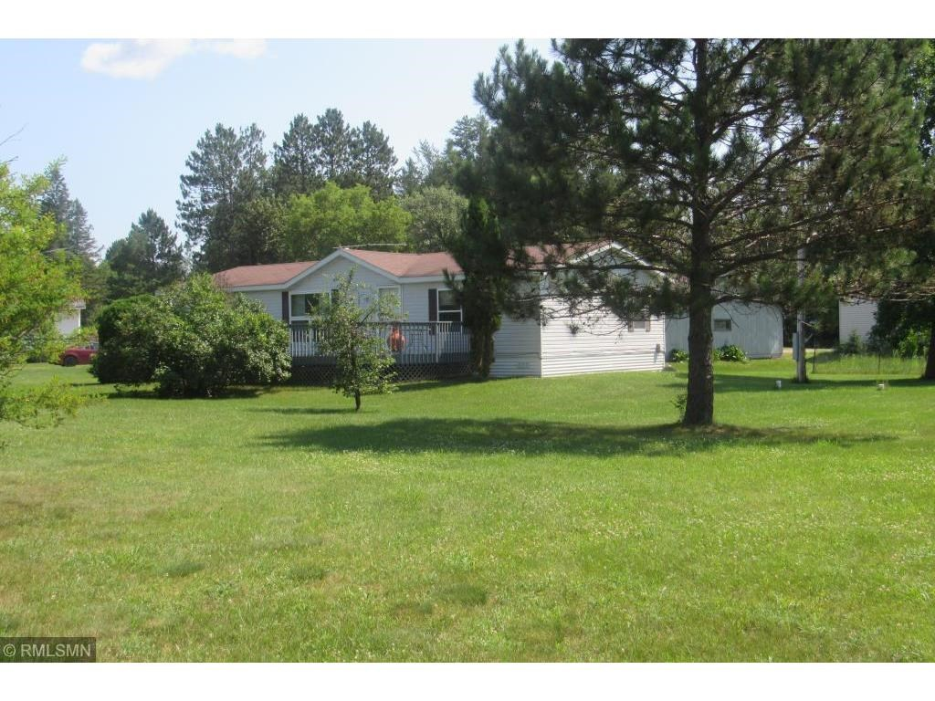 One Level Home For Sale in Town Sturgeon Lake, MN Corner Lot
