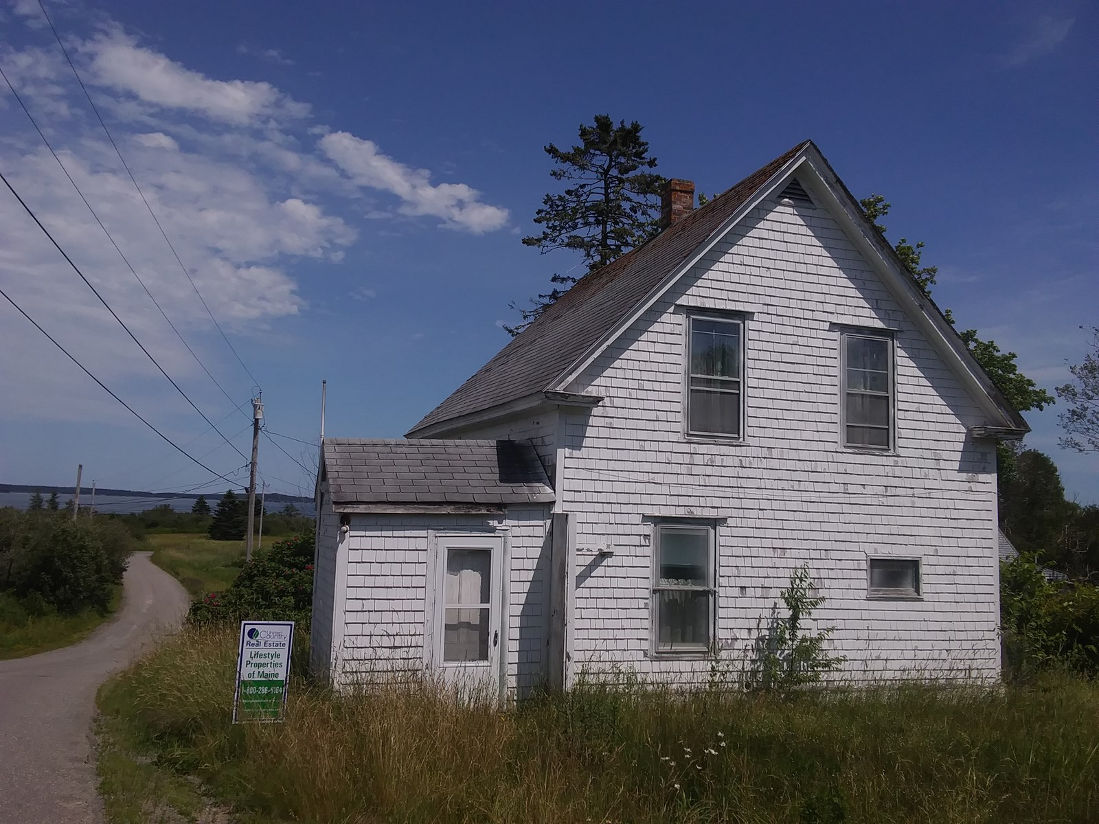 Two Homes For Sale in Lubec Maine
