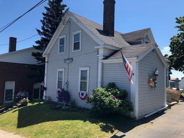 Historic Ocean View Home For Sale in Lubec, Maine