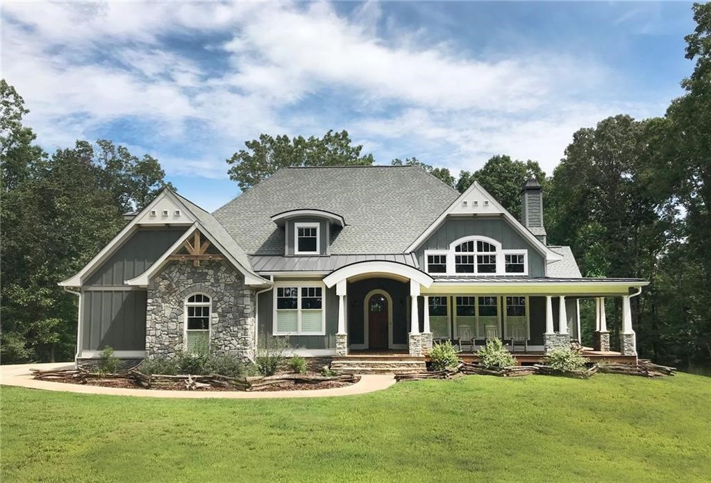 LARGE MOUNTAIN HOME FOR SALE IN JASPER, GEORGIA - 4 ACRES