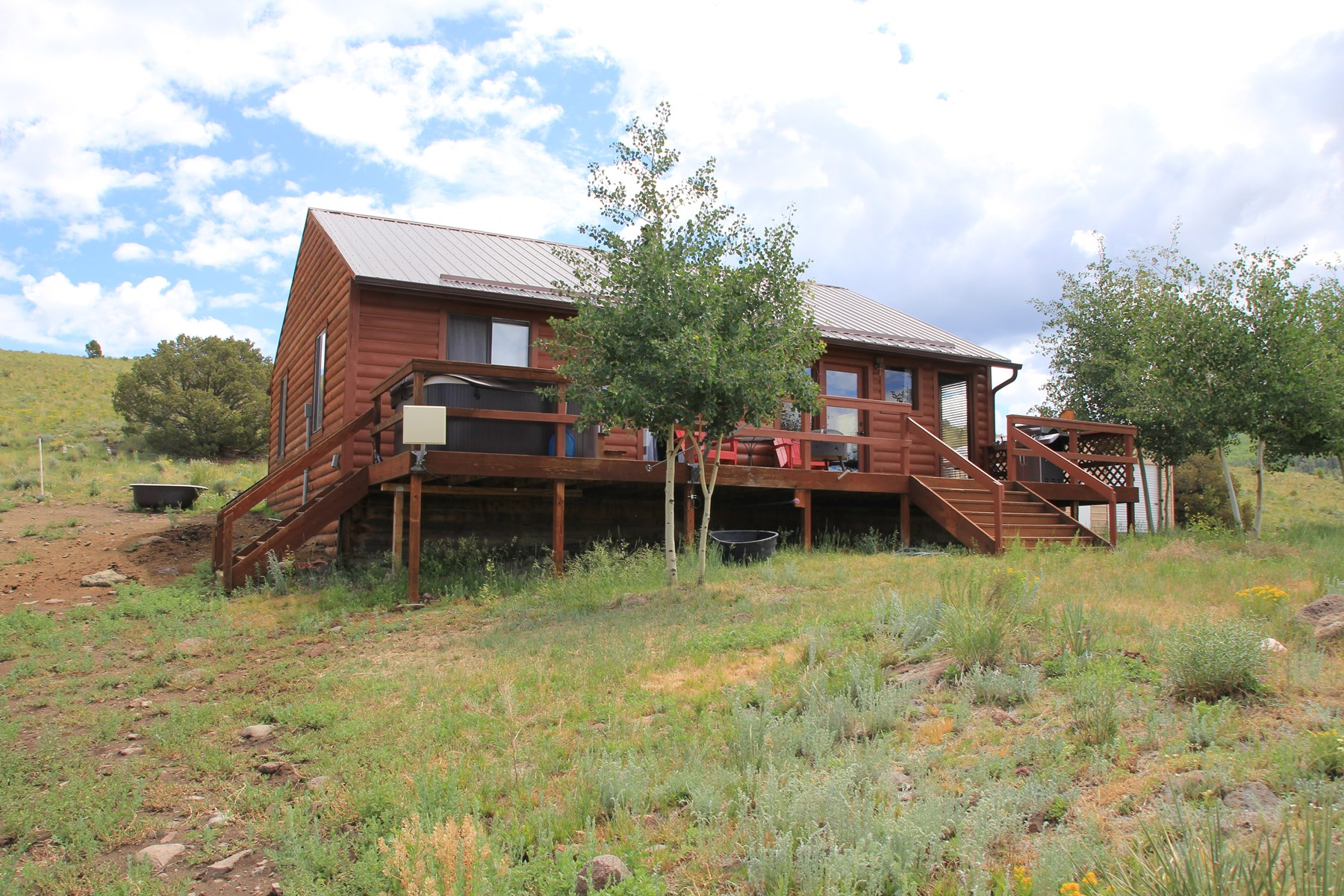 Mtn Cabin Horse Property Hunting Colorado Views