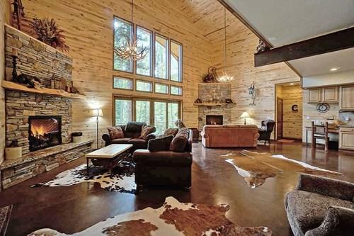 Luxury Mountain Log Home For Sale Above Ouray, Colorado