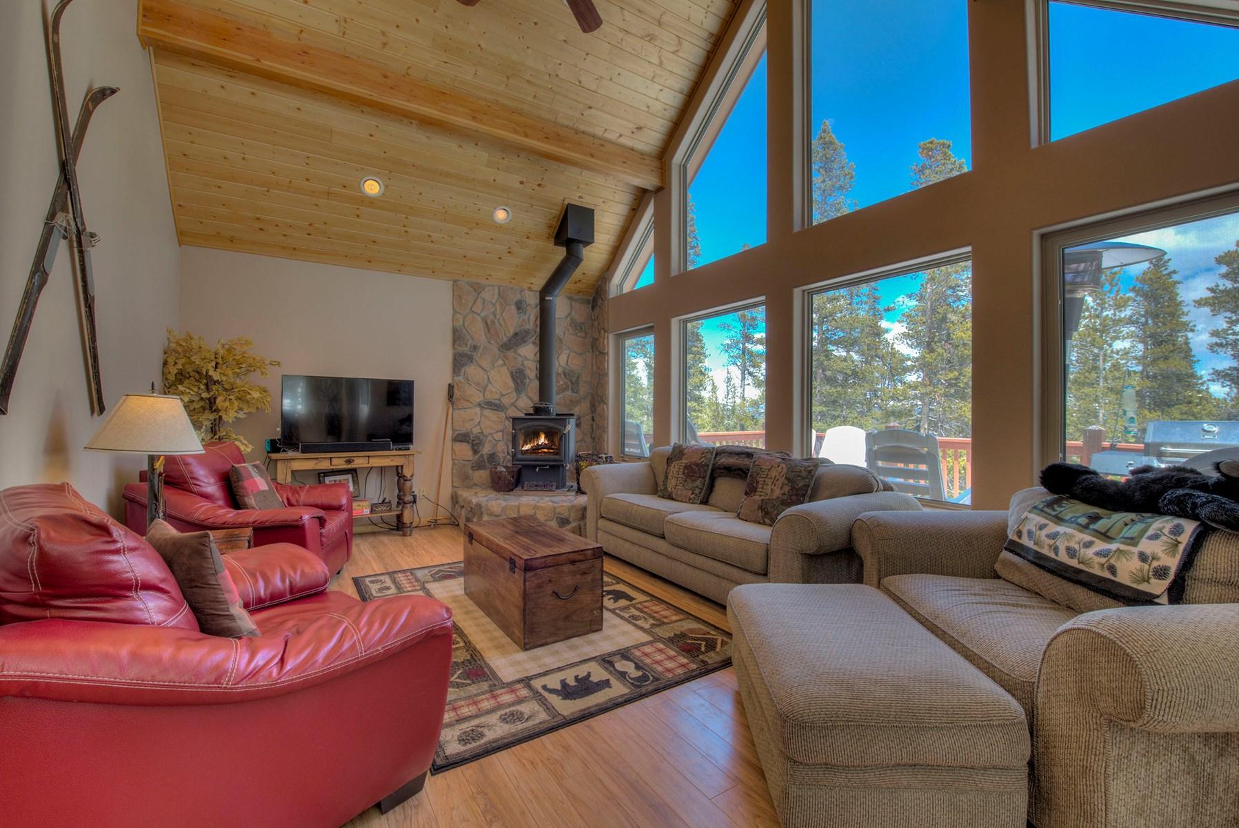 Mountain home in Fairplay Colorado 80440 Clean mountain air!