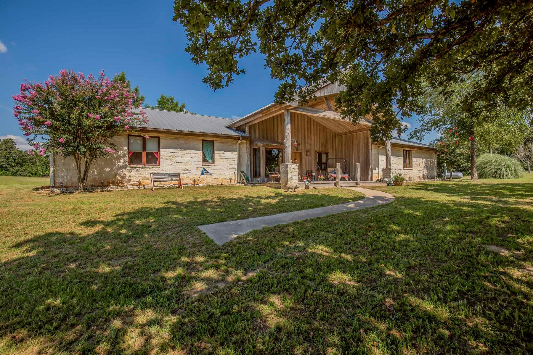 House and Ranch Land For Sale-Centerville, TX -Leon County,