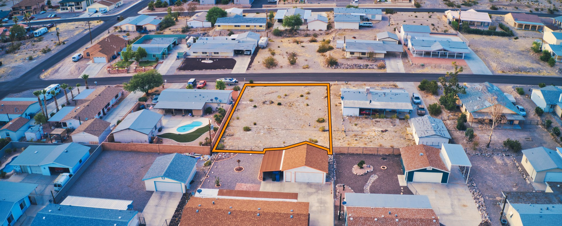 ONLINE AUCTION - 0.22 ACRE BUILDING LOT IN BULLHEAD CITY, AZ