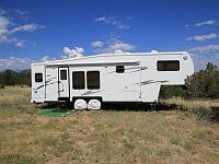 Custer County Co. 42+ Acres with Camping Trailers
