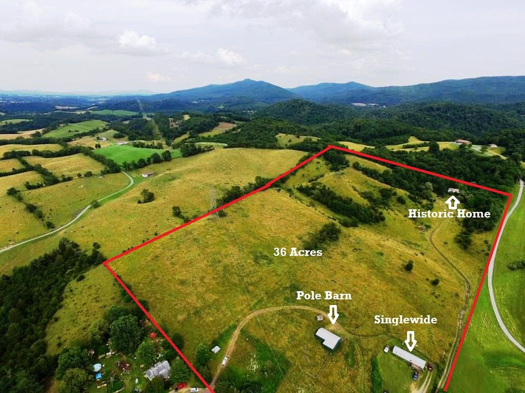Hobby Farm with income potential in Wytheville, VA