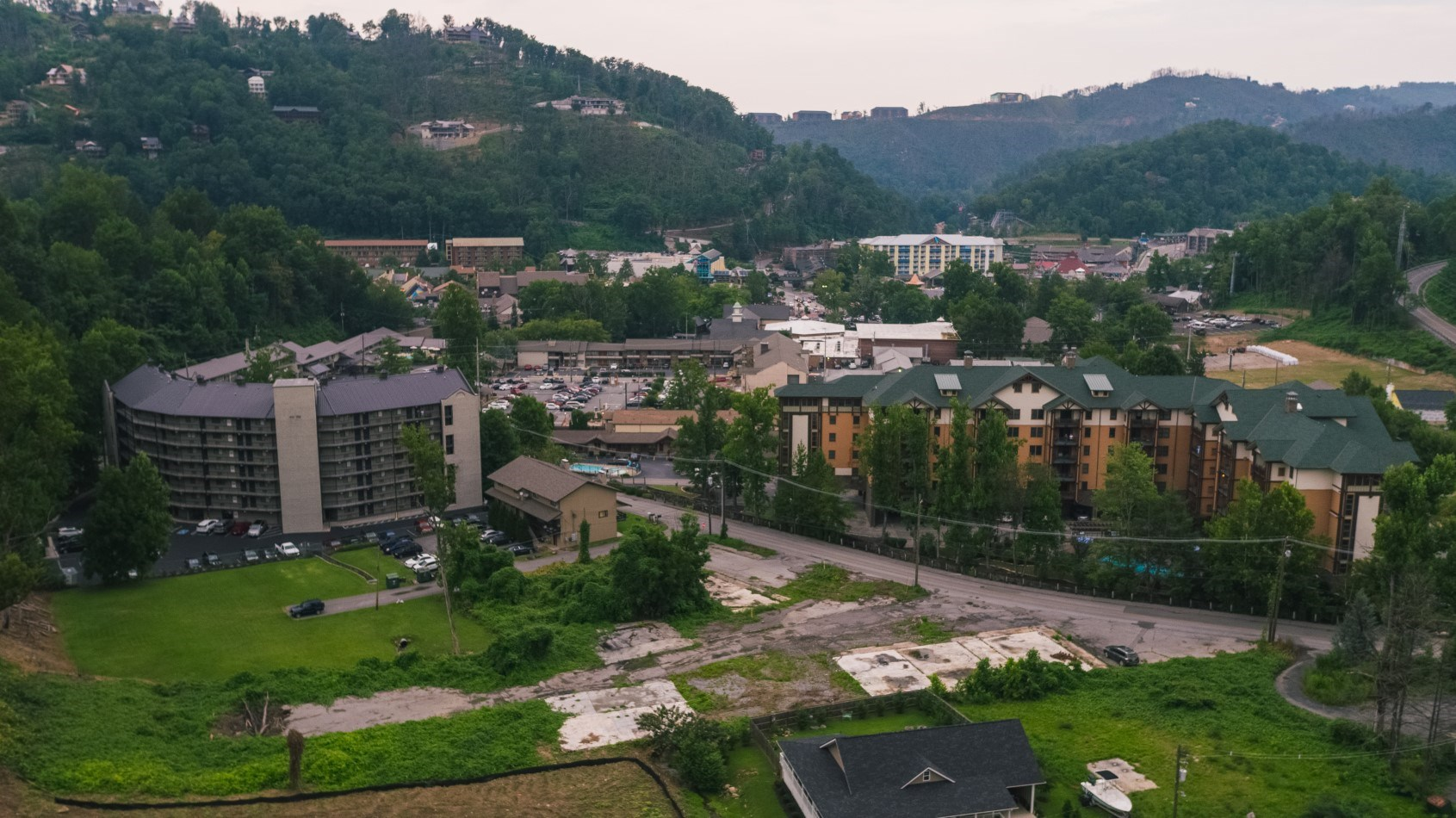 Commercial Building Lot For Auction In Gatlinburg TN
