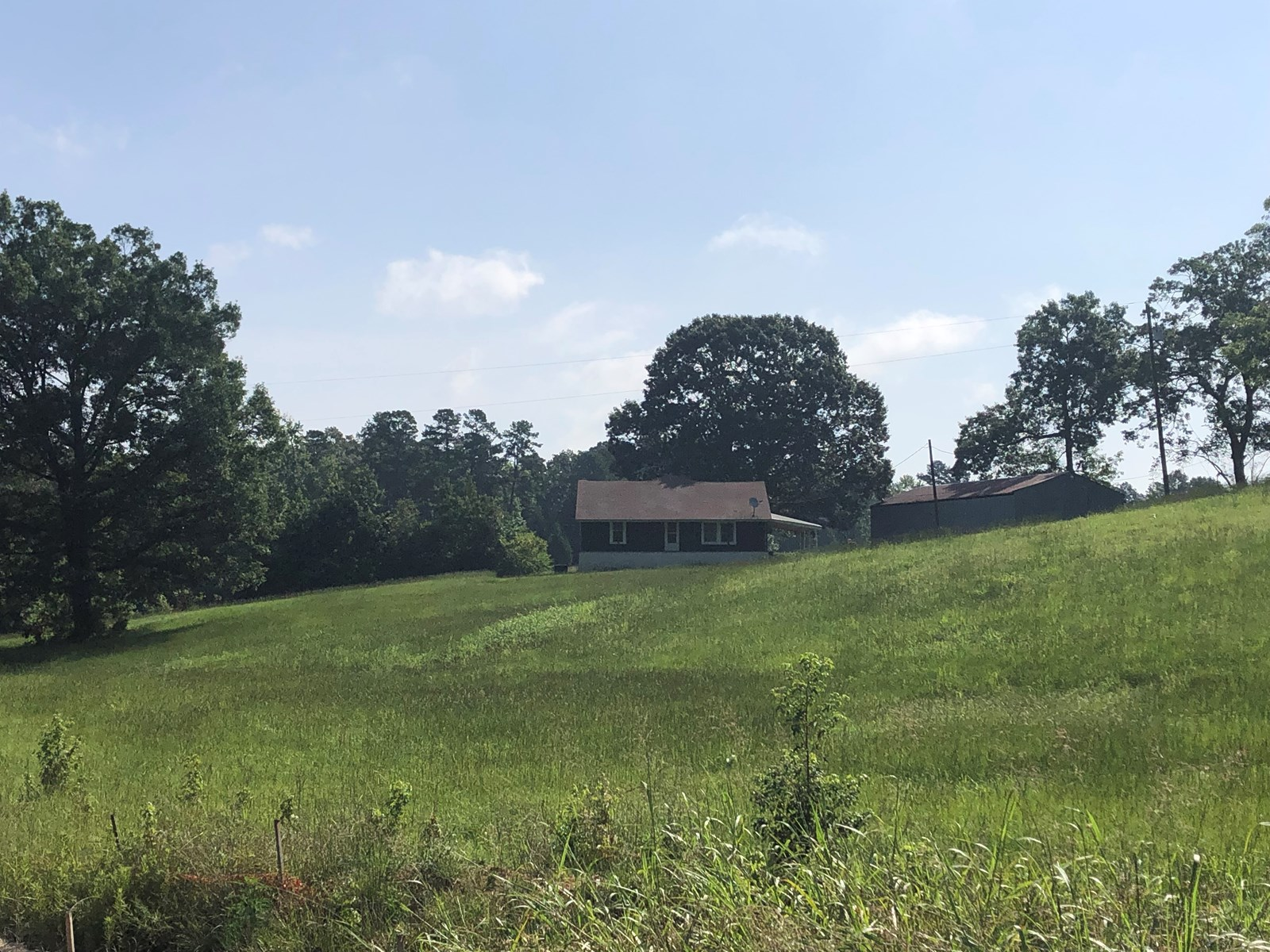 Country Home on Acreage in Cass County, TX