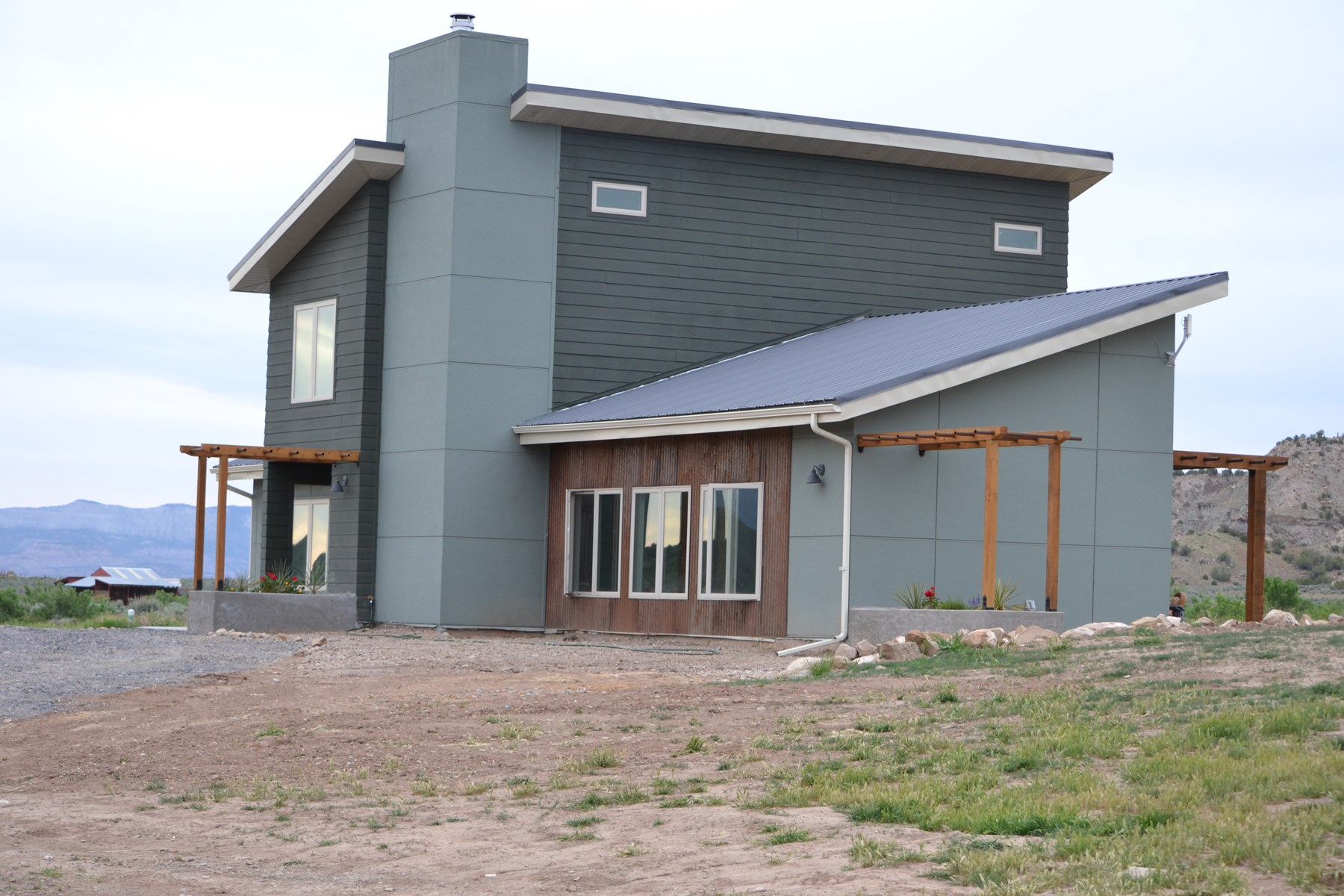 Green Built Home, Boarders Public Land For Sale in Colorado