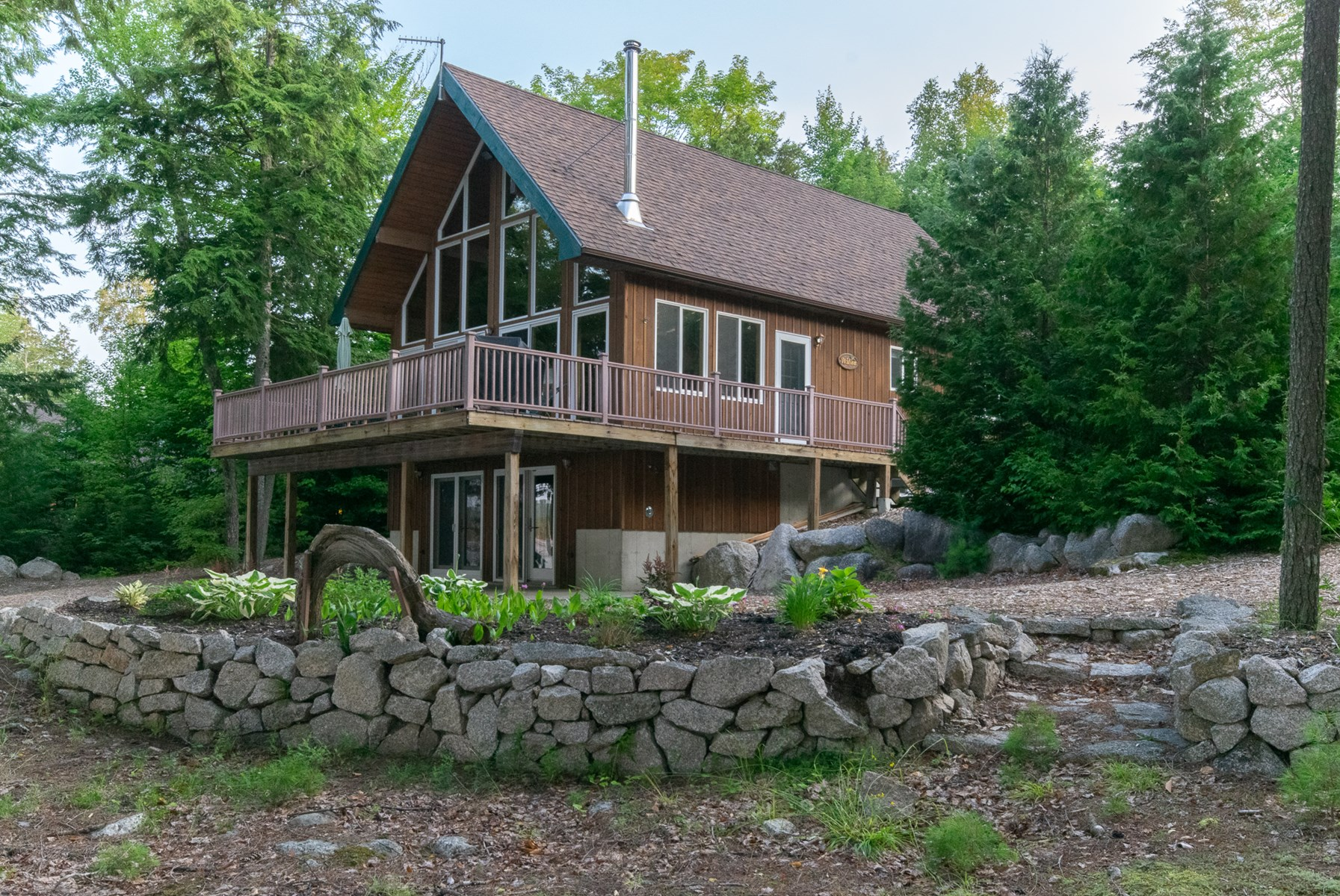 Lakefront Home Encompassed By Conservation Lands