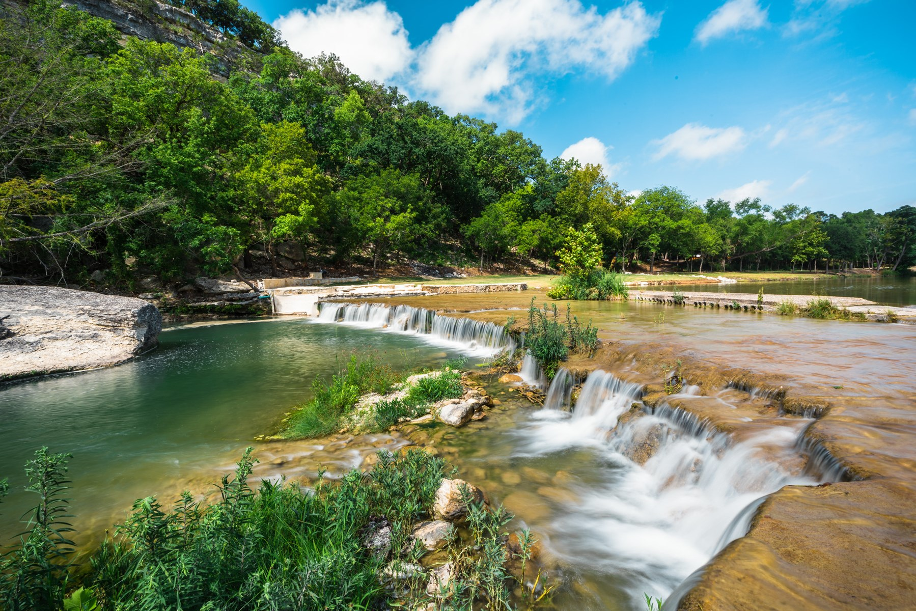 Live Water Texas Hill Country Ranch For Sale in Kerr County
