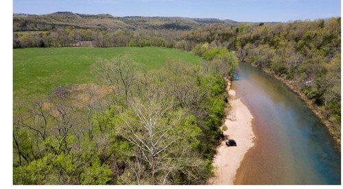 RIVERFRONT FOR SALE IN ARKANSAS- 92 ac