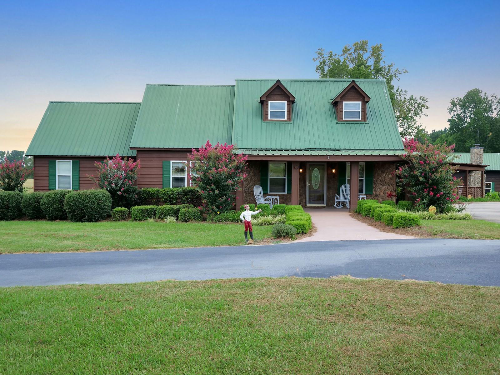 52-Acre Country Estate, Farm & Resort in Warren County, GA