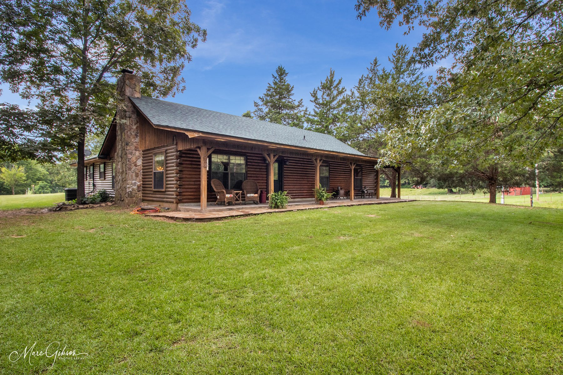 REDUCED!! LOG CABIN FOR SALE ON 51 ACRES - BENTON, LA