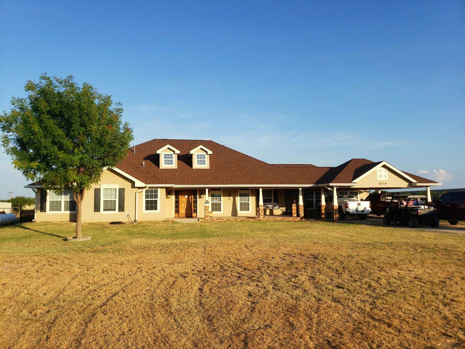 Country Home with land in San Angelo, Tx outside city limit
