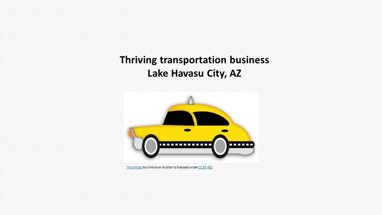 Thriving Transportation Business in Busy Small City