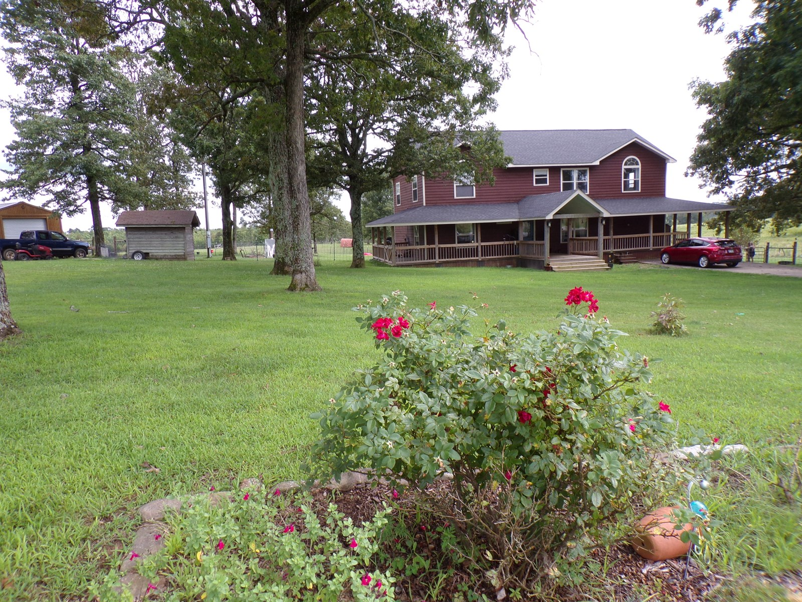 Arkansas Ozarks Country Home with Acreage For Sale