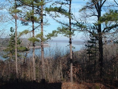 MAIN CHANNEL VIEW & 25AC W/OVER 1/2 MILE ON BULL SHOALS LAKE