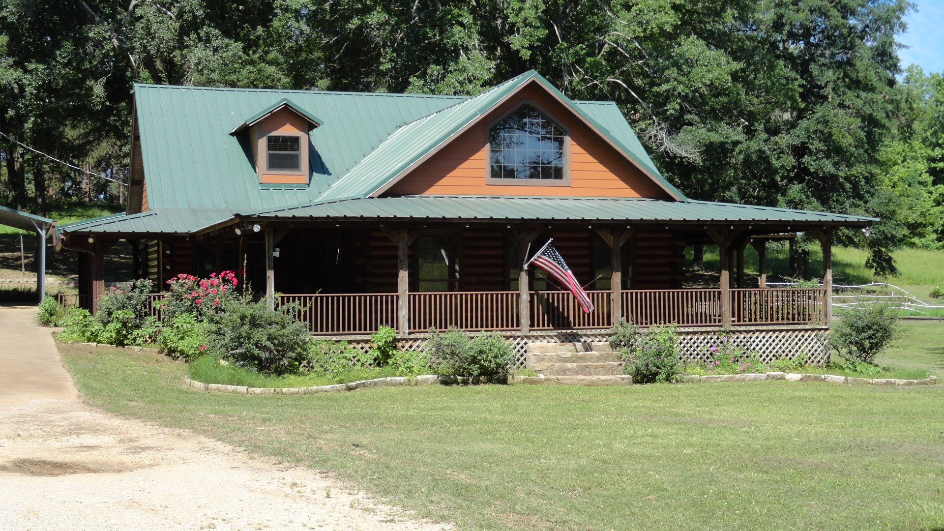 East Texas Country Home & Land For Sale